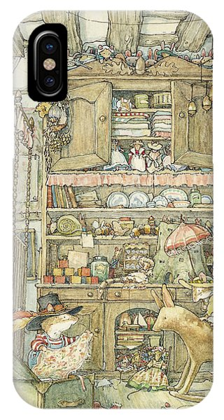 Palace iPhone X Case - Dressing Up At The Old Oak Palace by Brambly Hedge