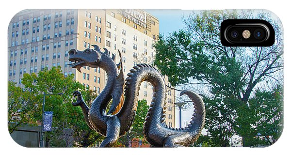 iPhone Case - Drexel University - The Dragon by Bill Cannon
