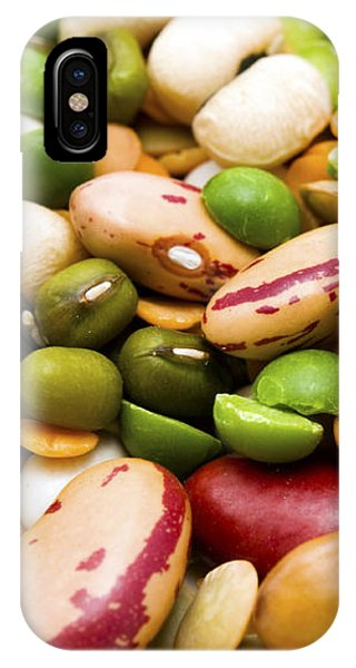 Dried Legumes And Cereals IPhone Case