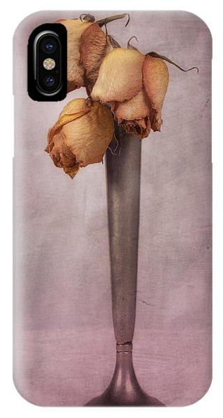 Blossom iPhone Case - Dried Roses Still Life by Tom Mc Nemar