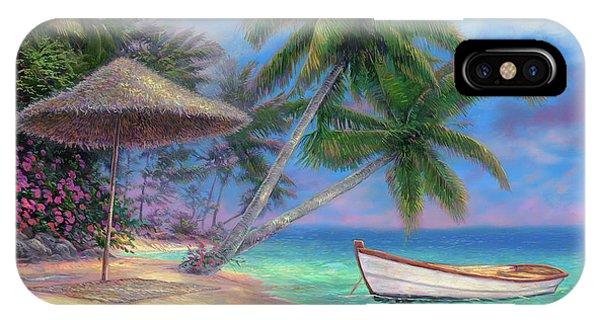South Pacific Ocean iPhone Case - Drift Away by Chuck Pinson