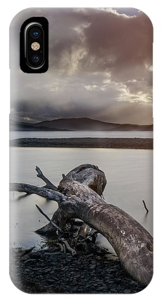 Driftwood At The End Of The World IPhone Case