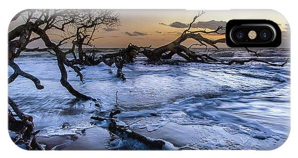Driftwood Beach 3 IPhone Case