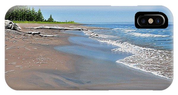 Driftwood Beach IPhone Case