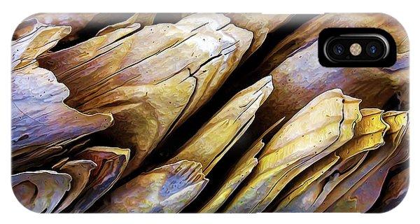 Driftwood Edges IPhone Case
