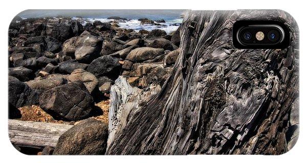 Driftwood Rocks Water IPhone Case