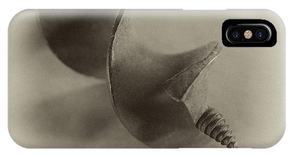 Drill Bit IPhone Case