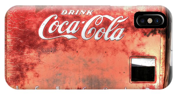 Drink Ice Cold Coca Cola IPhone Case