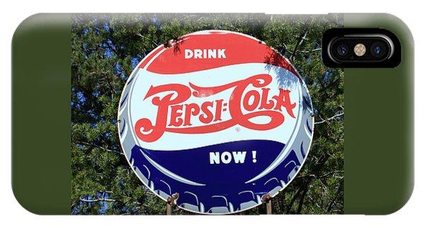 Drink Pepsi - Cola Now  IPhone Case