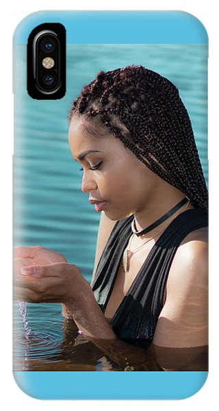 Driping Water IPhone Case
