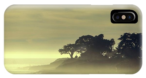 IPhone Case featuring the photograph Driving Into The Settling Sun by Quality HDR Photography
