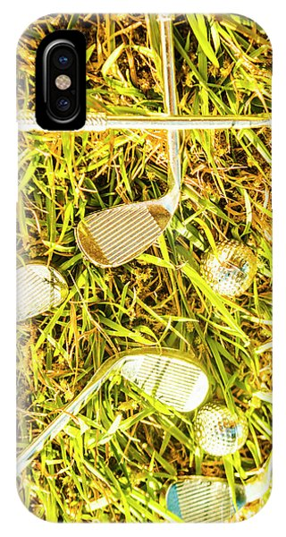 Hobby iPhone Case - Driving On The Green by Jorgo Photography - Wall Art Gallery