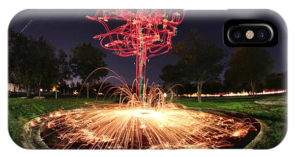 Drone Tree 1 IPhone Case