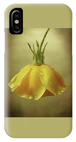 Drop Rose IPhone Case