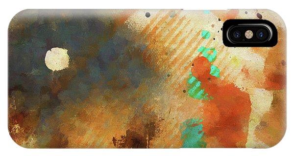 Dropcloth Moon IPhone Case