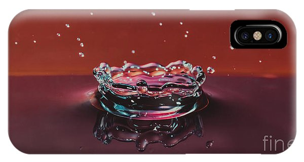 Droplet Impact 1 IPhone Case