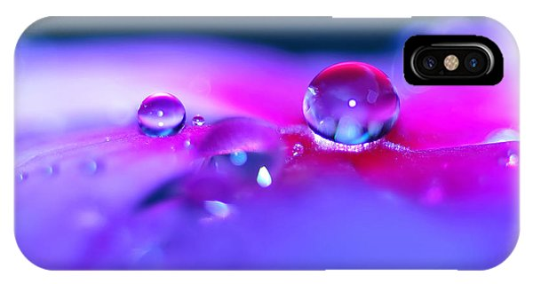 Droplets In Fantasyland IPhone Case