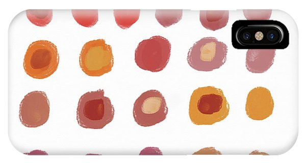 Pattern iPhone Case - Drops Of Fall Color- Art By Linda Woods by Linda Woods