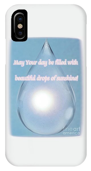 Drops Of Sunshine IPhone Case