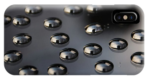 Drops Of Water -macro IPhone Case