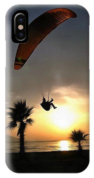 Dropzone At Dusk IPhone Case