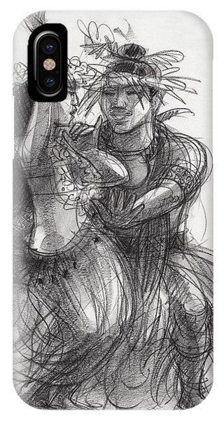 Drum Dance Pas-de-deux IPhone Case