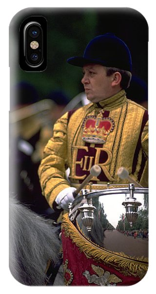 Drum Horse At Trooping The Colour IPhone Case