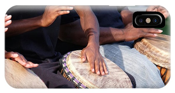 Drum Rhythm IPhone Case