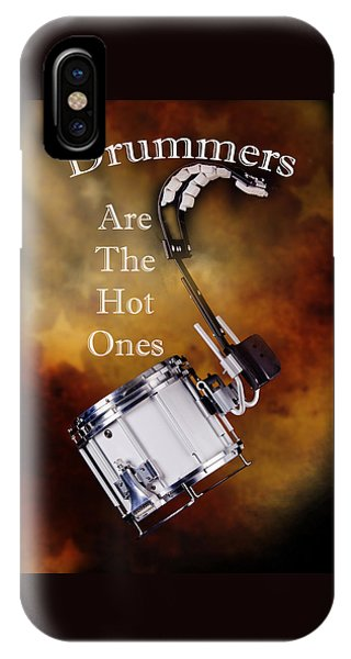 Drummers Are The Hot Ones IPhone Case