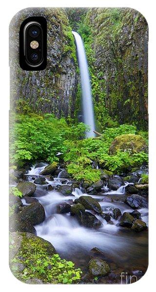 Dry Creek Falls IPhone Case