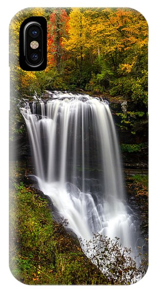 Dry Falls In October  IPhone Case