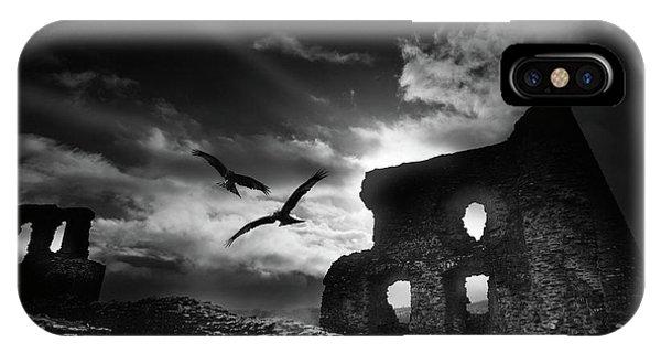 Dryslwyn Castle 3b IPhone Case