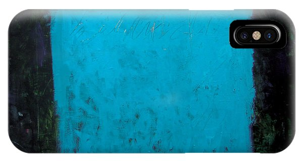 IPhone Case featuring the painting Dualisme-2 by Diane Desrochers