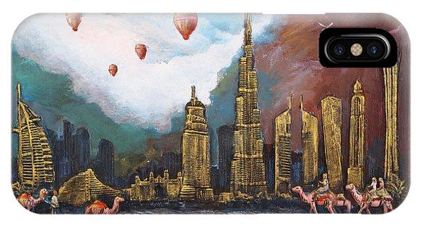 Dubai-city Of Gold IPhone Case
