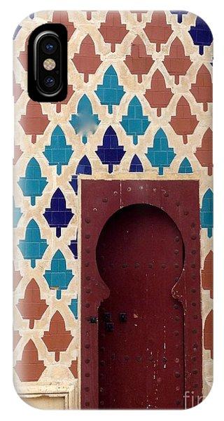 Dubai Doorway IPhone Case