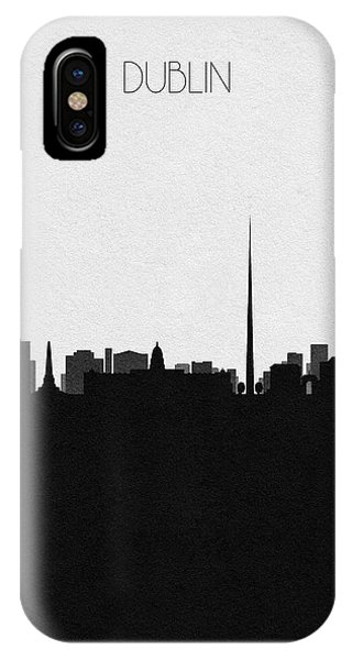 Irish iPhone Case - Dublin Cityscape Art by Inspirowl Design