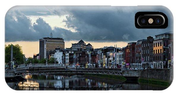 Dublin Sky At Sunset IPhone Case
