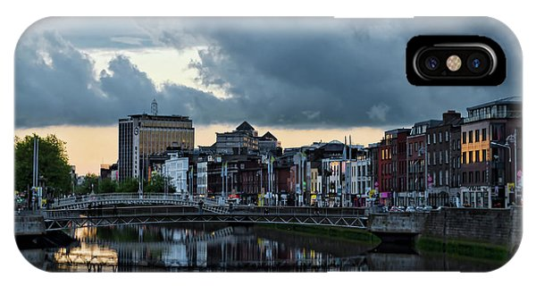 Dublin Sky At Sunset IPhone Case