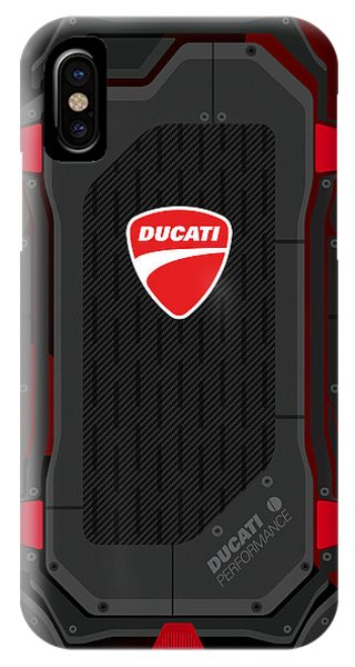 Ducati Carbon Fiber Phone Case by Srdjan Petrovic