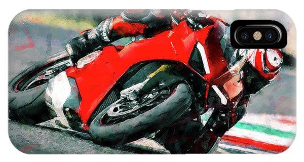 Ducati Panigale V4 - 01 IPhone Case
