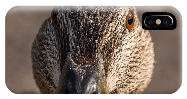 Duck Headshot IPhone Case