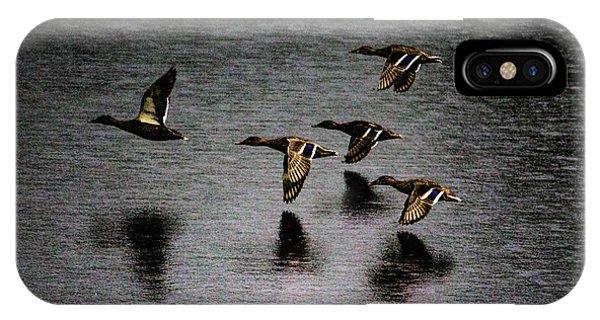 Duck Squadron IPhone Case
