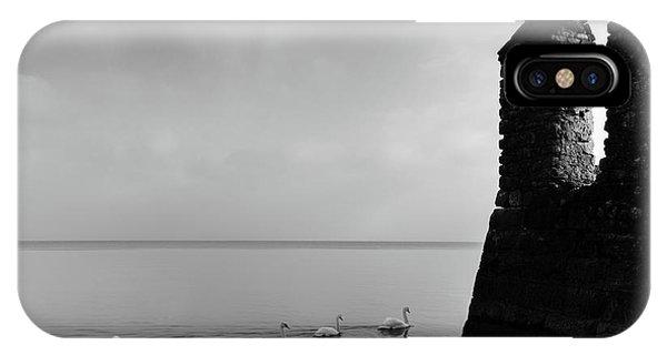 Ducks In Lake Garda, Italy IPhone Case