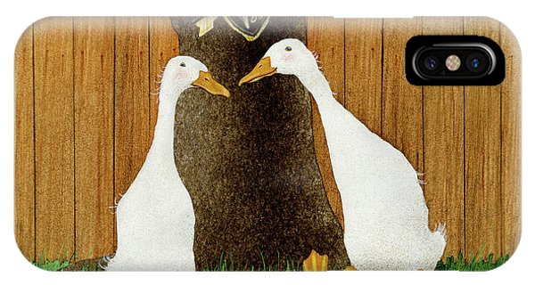Ducky In Love... IPhone Case