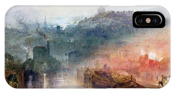 1851 iPhone X Case - Dudley by Joseph Mallord William Turner