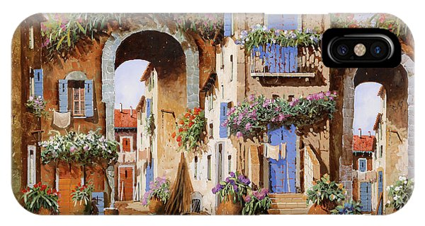Arched iPhone Case - Due Archi Nel Borgo by Guido Borelli