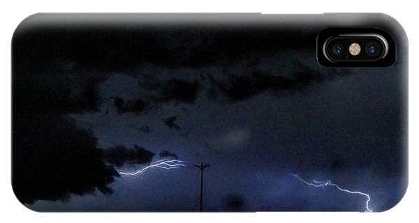 Dueling Lightning Bolts IPhone Case