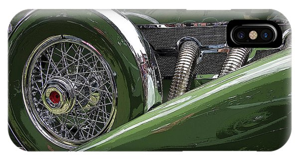 IPhone Case featuring the photograph Duesenberg by Jim Mathis