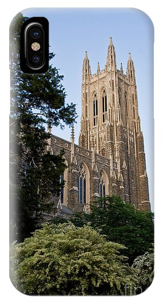 Duke Chapel Side View IPhone Case