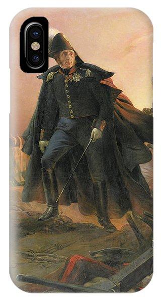 Duke Of Angouleme At The Capture Of Trocadero IPhone Case